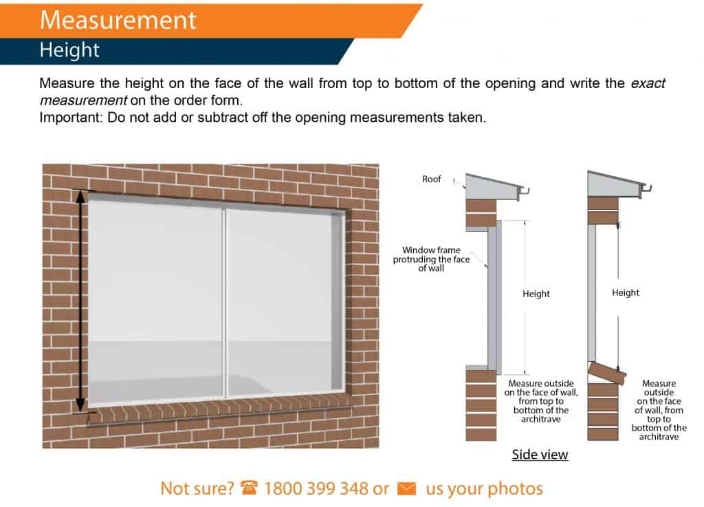 How To Measure For Roller Shutters Measuring Windows For Shutters
